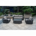 New Design Hot Sale Outdoor Furniture Aluminum Frame Garden Sets Outdoor Rattan Sofa Set