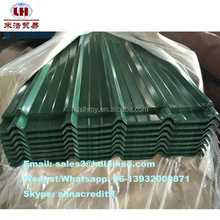 Roofing sheet metal roof supplier or color coated corrugated roofing tiles and corrugated metal sheet