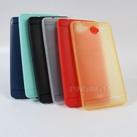 Soft colorful leather tpu matte case for infinix note 2 x600 back cover