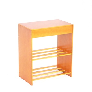 2 tier wooden shoes rack shoes rack table