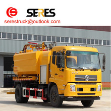 dongfeng 8t pipeline dredge truck vehicle with high pressuer water pump