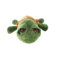 Hot selling customized cute stuffed plush sea turtle big eyes turtle