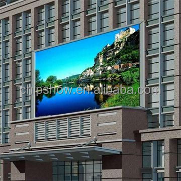 Popular outdoor programmable P13.33 full color led video display