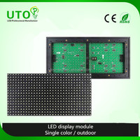Single white Color 16X32 P10 1W LED Module display with Pitch 10mm