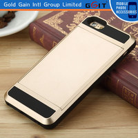 Slide Style With Card Holder Case for iPhone 6 TPU+PC Case