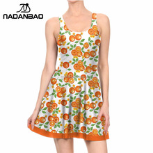 NADANBAO Brand Summer dresses 2017 for casual ladies dresses summer dresses in large sizes