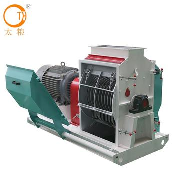 China manufacturer high quality feed hammer mill shredder Factory Wholesale Capacity 3-16t/h for Industrial mass production