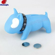 PVC Coin Box, Dog Money Box, PVC Money Box