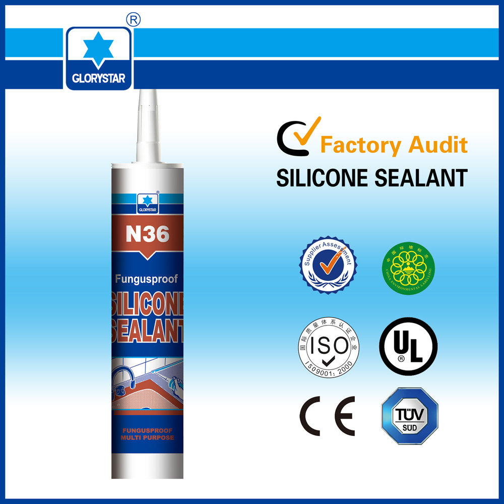 Waterproof Transparent Anti-fungus Neutral Silicone Sealant for Bathroom