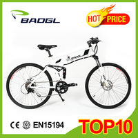 26 inch electric mountain bike with 250w Brushless hub motor adult chopper bicycle beach cruiser bike