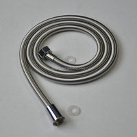Best quality stainless steel Spring shower pipe, Chrome,strong flexible hose
