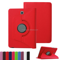 2015 Original 360 Rotation PU Leather Flip Stand Cases Smart Cover for samsung galaxy tab s2 8.0 case made in china