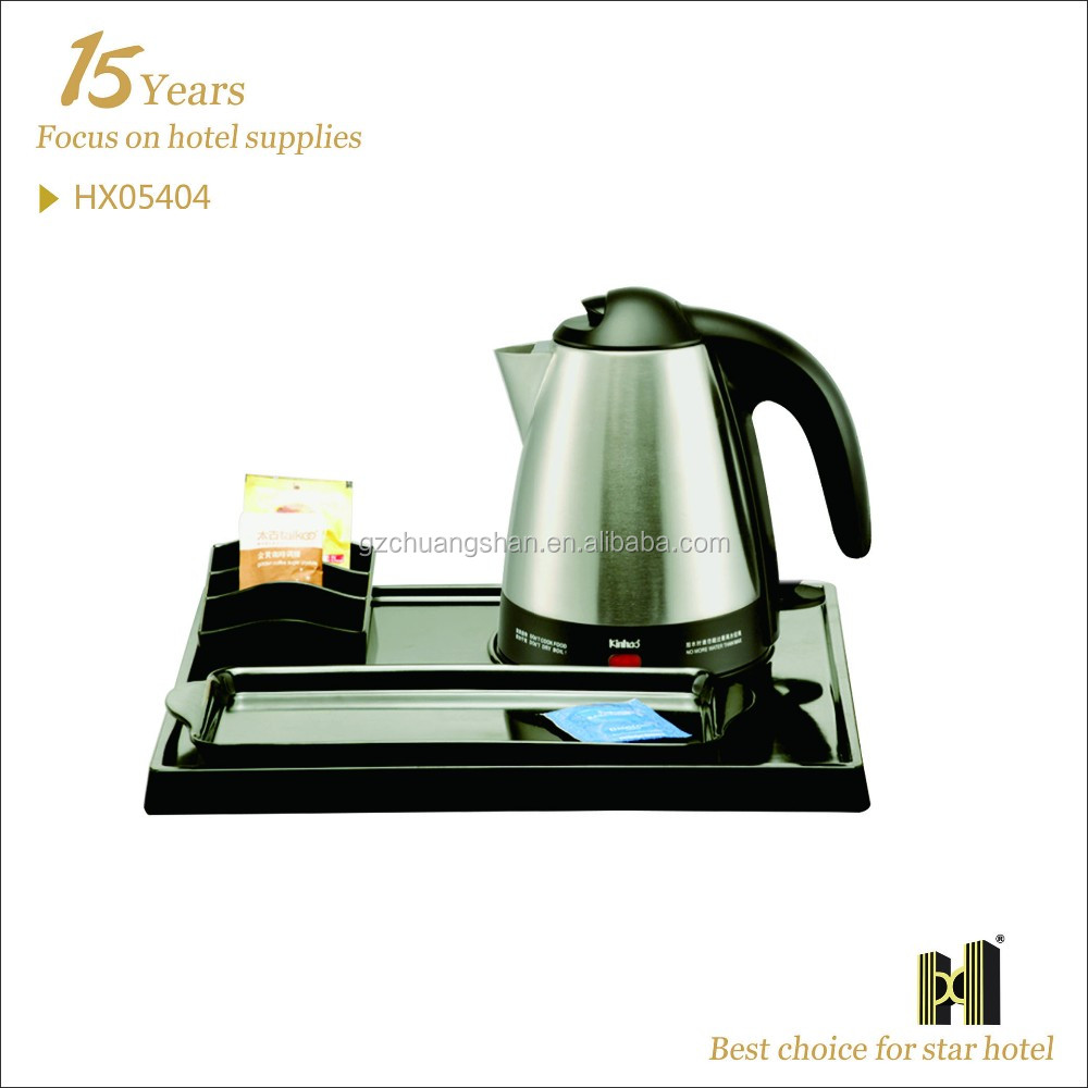 1.2L Electric Tea Kettle Tray Set Of Four