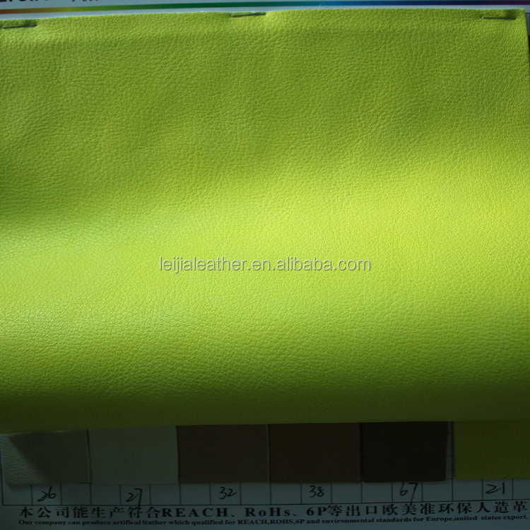 soft bags material embossed pu synthetic leather with a cheap price and good quality