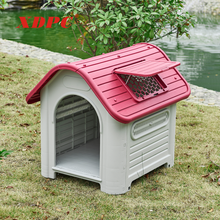 XDB-419 Best eco-friendly outdoor supplies commercial backyard big dog kennels house buildings with top