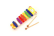 Mini Yellow Bear Metal Xylophone toys