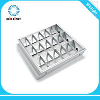 Good quality 600x600mm T8 grille lamp 4x18w