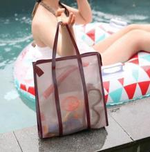 Top sale wholesale cheap eco clear pvc laminated fabric shopping bag