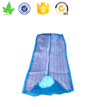 High Quality China PP Plastic Woven Ventilated Breathable Bulk Big Mesh Onion Firewood Packing Bags Net Sacks Four Sides Mesh