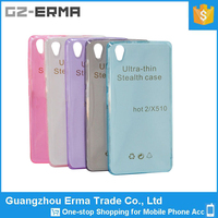 Alibaba wholesale transparent Ultra Thin Clear Rubber Soft TPU Matte Back Cover Phone Case for Infinix