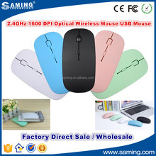 2.4Ghz 1600DPI USB Optical Wireless Mouse Fashion for Laptop Notebook PC