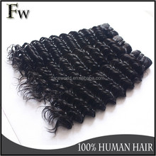 Virgin human hair that last more than 2 years deep wave human hair weave virgin malaysian raw unprocessed wholesale hair