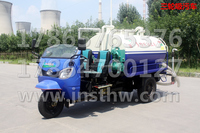 Factory direct sale LUYING brand 4 cbm Motor Tricycle Water Cart