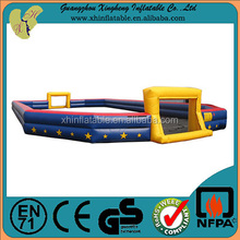 Cheap china inflatable toys inflatable mini soccer field for sale