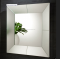 Mirrored tray shape wall mirror in square size 90*90CM