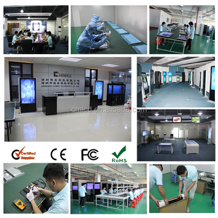 47 inch floor standing kiosk advertising shoe polishing machine