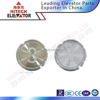 Elevator Push Button for Lift Switch,Pushu Button with Brail