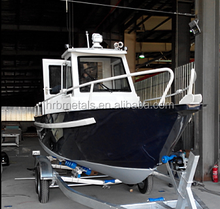 travelling yacht small boat sailing ship cheaper hot saling aluminum fishing boat, pilot boat, rescue boat