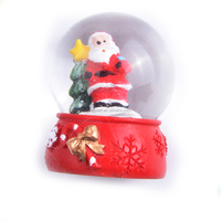 Custom Made Christmas Snow Globe For Home Decoration