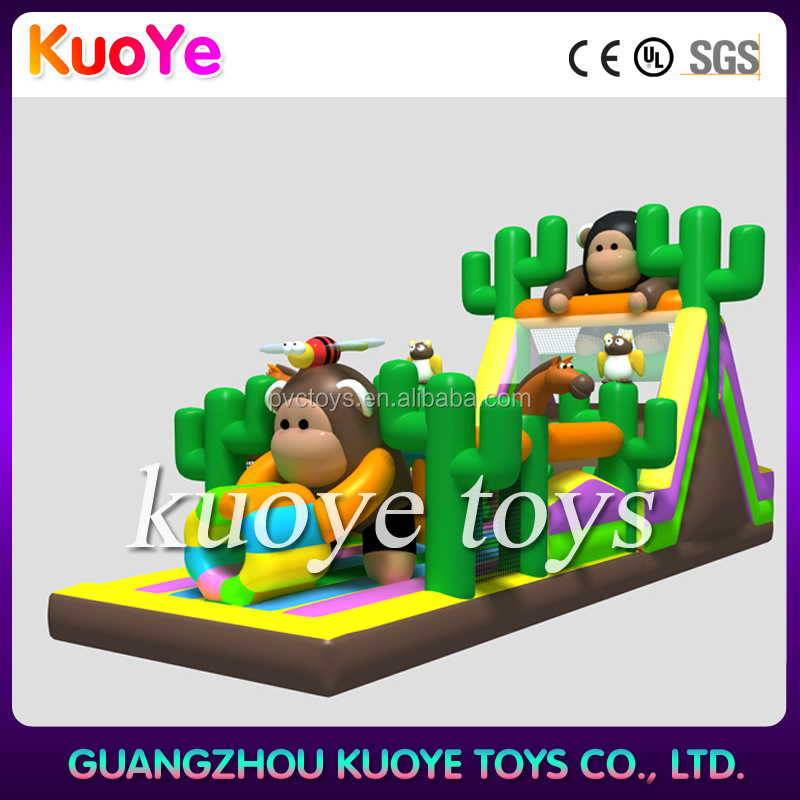 inflatable obstacle rentals inflatable obstacle course slide for kids