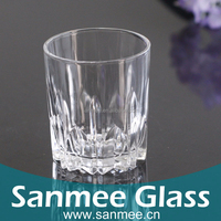 2015 New Arrival 313ml High Quality Transparent Red Wine Glass Crystal Clear Industries Glassware