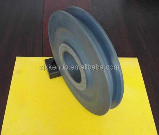 corrosion resistant plastic black nylon sheet / roller / parts