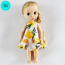ShiJ 2016 New Design Lemon American Girl Doll Clothes