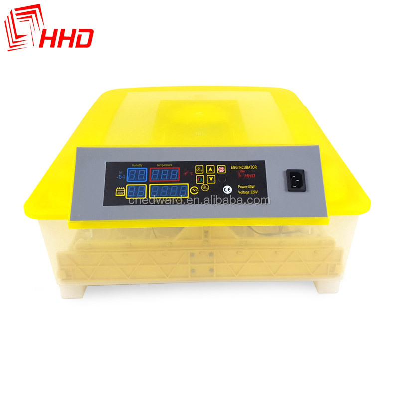 HHD Hottest Selling CE approved solar chicken incubator full automatic 48 mini egg incubator for hatching eggs