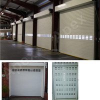 automatic & manual Security Insulated & Ventilation summer window roller window blinds