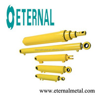 Hydraulic cylinder for telescopic straw machine V242