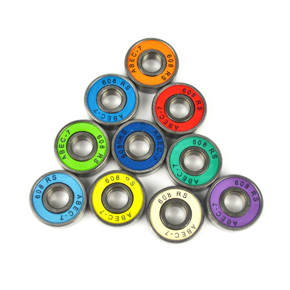 high precision chrome steel miniature longboard deep groove ball bearings 608 for skateboard