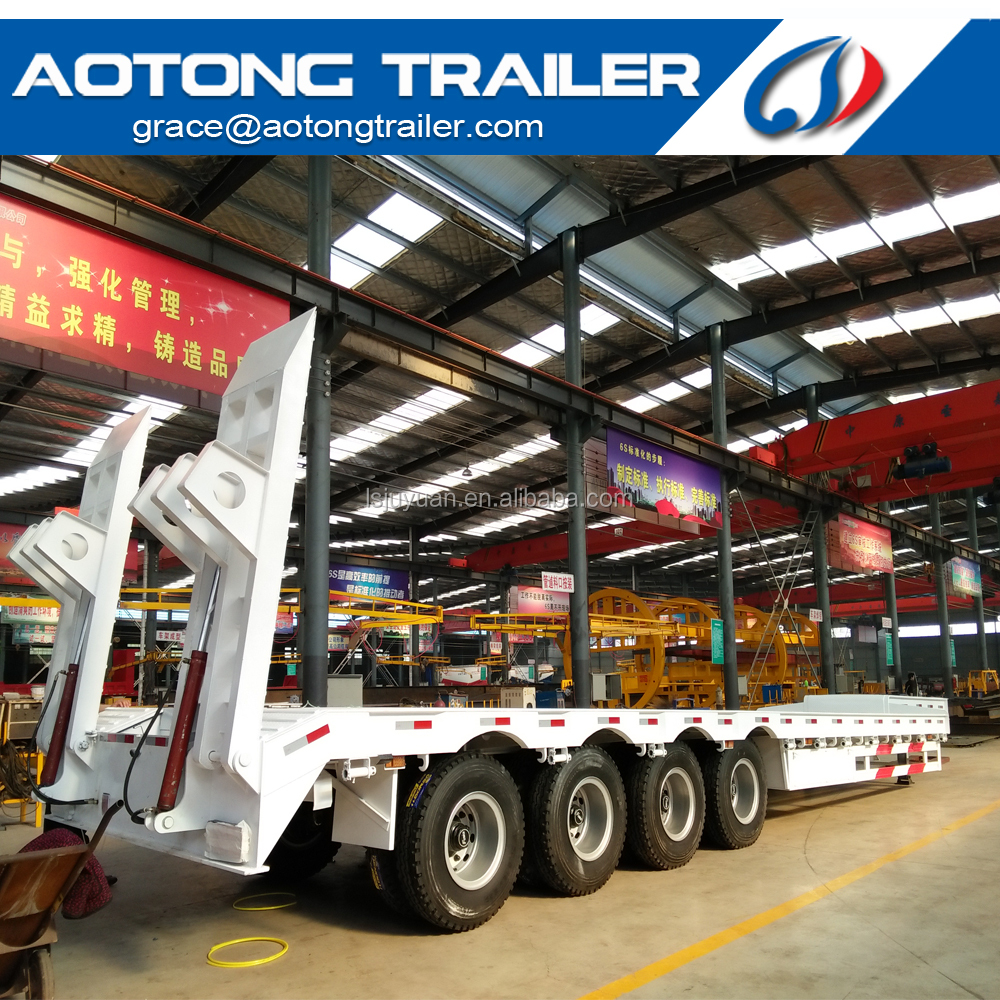 China factory Terminal lowbed mafi roll trailers with heavy duty capacity for sale