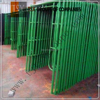 TSX-SF11152 safe SGS AS/NZS1576.3 qualified frame scaffolding, frame scaffolding system, scaffolding frame
