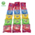JJW/OEM brand fruit flavor bubble gum rolls in strips bag packing/provides private label: 5rolls-per bag