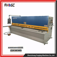 E21S Control System shearing machine specification QC12K 10X2500MM aluminum door and window frame cutting machine