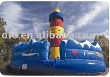amusement park inflatable