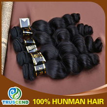Accept Paypal Truscend Long Lasting Human Virgin 6A Grade Wholesale Price 100% Unprocessed Queen Like Brazilian Hair