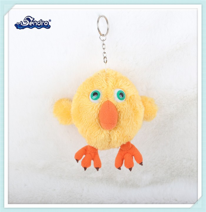 factory custom big eyes animal stuffed and plush mini chicken