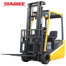 Electric forklift CPD05 compact battery type forklift forward fork lift for hot sale