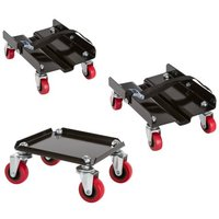 2000lbs capacity snowmobile dolly set
